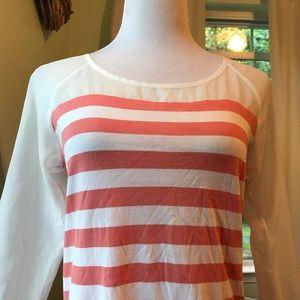 LC Lauren Conrad Tops - Sheer 3/4 sleeve top